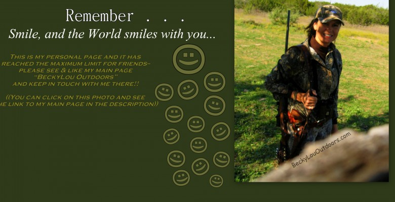 Smile and the World Smiles with you!!! It's True!