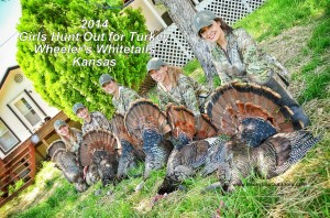2nd Annual Kansas Girls Turkey Hunt