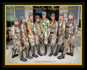 2014 3rd Annual Teal Hunt for Tenacious Women - Lake Arthur, LA