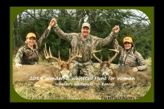 2014 1st Annual Whitetail Hunt with Wheeler's in Kansas