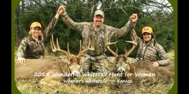 2014 1ST Annual Wonderful Whitetail Hunt for Women!