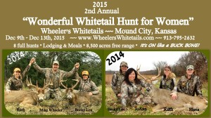 2015 2nd Annual Whitetail Hunt for Women @ Wheeler's Whitetails | Mound City | Kansas | United States