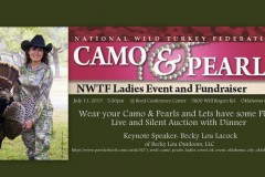 Camo & Pearls Banquet OK City
