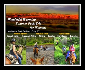 2016 Wonderful Wyoming Horseback Pack Trip