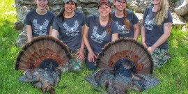 2015 – 2nd Annual Turkey Hunt for Women in Kansas