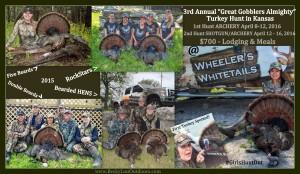 3rd Annual Turkey Hunt for Women in Kansas