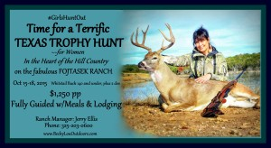 Terrific Texas Trophy Hunt for Women @ Brookesmith | Texas | United States