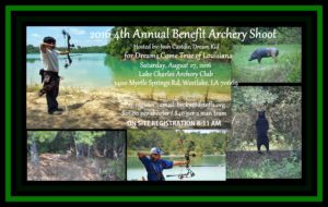 4th Annual 3D Archery Shoot for Dreams Come True @ Archery Shoot Benefit for Dreams Come True | Westlake | Louisiana | United States