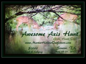 Awesome AXIS HUNT for GIRLS! @ Axis Hunting in West Texas | Sonora | Texas | United States